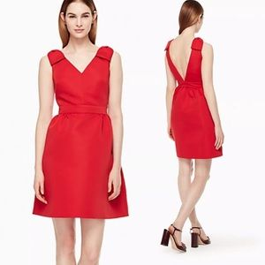 Kate Spade Red Bow Dress